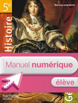 Manuel numérique élève Histoire Géographie 5e