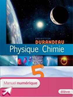 Manuel numérique Physique Chimie 5e - Licence élève - ed. 2006