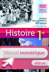 Manuel numérique Histoire Zachary 1re ES/L/S - Licence élève enrichie - Ed. 2011
