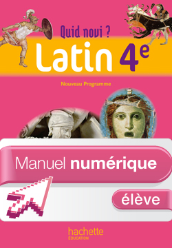 Manuel numérique Latin 4e Edition 2011 - Licence élève