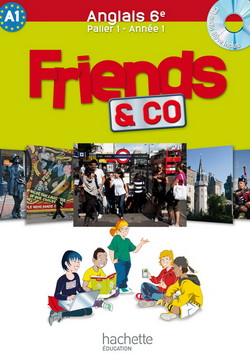 Friends and Co 6e / palier 1 année 1 - Anglais - Livre de l'élève - Edition 2011