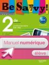 Be savvy! 2de Bac Pro - Manuel numérique - Licence élève - Ed.2009