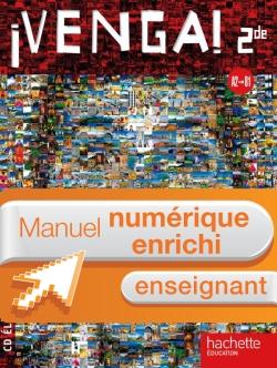 ¡ Venga ! 2de - Manuel numérique - Licence enseignant enrichie - Ed.2010