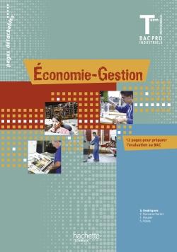 Economie-Gestion Terminale Bac Pro - Livre élève - Ed.2011