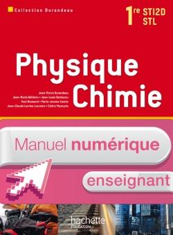 Physique Chimie 1res STI2D/STL - Manuel numérique - Licence enseignant - Ed.2011