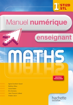 Mathématiques 1res STI2D/STL - Manuel numérique - Licence enseignant - Ed.2011