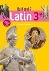 Quid Novi - Latin 3e - Livre élève - Edition 2012