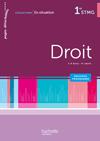 En situation Droit 1re STMG - Livre élève - Ed. 2012