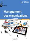 Enjeux et Repères Management des organisations 1re STMG - Livre élève Gand format - Ed. 2012