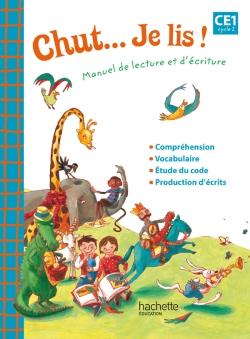 Chut... Je lis ! - Méthode de lecture CE1 - Guide pédagogique - Ed. 2012