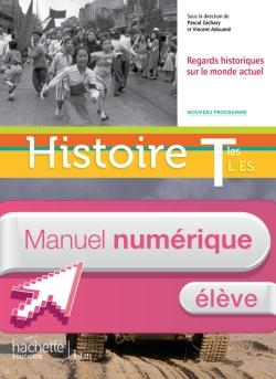 Manuel numérique Histoire Terminales ES/L - Licence élève - Edition 2012