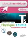 Manuel numérique Physique-Chimie T S spécialité - Licence élève - Edition 2012