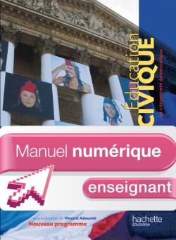 Manuel numérique Education Civique 3e - Licence enseignant - Edition 2012