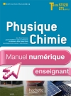 Physique Chimie Term. STI2D/STL (option SCL) - Manuel numérique enseignant simple - Ed. 2012