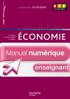 En situation Économie BTS 1re année - Manuel numérique - Licence enseignant simple - Ed. 2012
