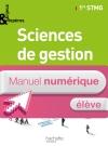 Enjeux et Repères Sciences de gestion 1re STMG - Manuel numérique élève - Ed. 2012