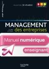 En situation Management des entreprises BTS 1re année - Manuel numérique enseignant - Ed. 2012