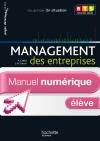 En situation Management des entreprises BTS 1re année - Manuel numérique élève - Ed. 2012