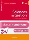 En situation Sciences de gestion 1re STMG - Manuel numérique - Licence enseignant simple - Ed. 2012