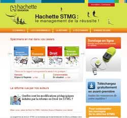 Site enseignants Réforme STMG Économie