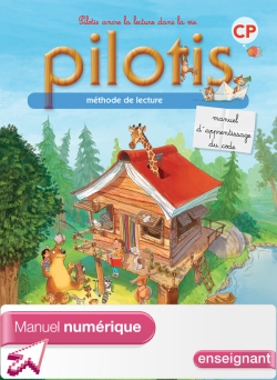 Lecture CP - Collection Pilotis - Manuel de code - Manuel numérique simple enseignant - Ed. 2013