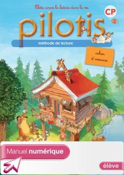 Lecture CP - Collection Pilotis - Cahier d'exercices numérique version élève - Ed. 2013