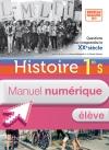 Manuel numérique Histoire Première S Licence élève édition 2013