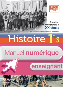 Manuel numérique Histoire Première S - Licence enseignant - Edition 2013
