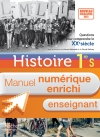 Manuel numérique Histoire Première S - Licence enseignant - édition 2013