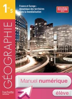 Manuel numérique Géographie Première S - Licence élève - édition 2013