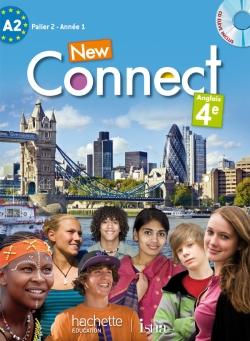 New Connect 4e / Palier 2 année 1 - Anglais - Livre de l'élève - Edition 2013