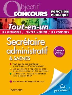 Objectif Concours Tout-en-un - Secrétaire administratif et SAENES Catégorie B