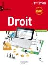 Enjeux et Repères Droit Terminale STMG - Livre élève format compact - Ed. 2013