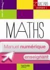 Ressources et Pratiques Maths 2de Bac Pro Gpts C - Manuel numérique enseignant simple - Ed. 2013