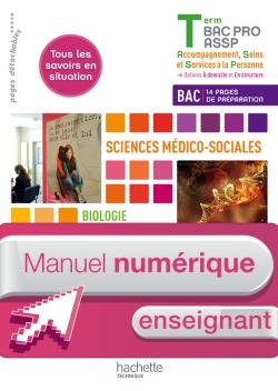 Ergonomie-Soins-SMS Term. Bac Pro ASSP - Manuel numérique enseignant simple - Ed. 2013