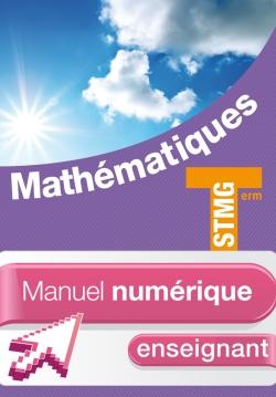 Mathématiques Term. STMG - Manuel numérique enseignant simple - Ed. 2013