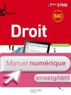Enjeux et Repères Droit Term. STMG - Manuel numérique enseignant simple - Ed. 2013