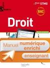 Enjeux et Repères Droit Term. STMG - Manuel numérique enseignant enrichi - Ed. 2013