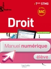 Enjeux et Repères Droit Term. STMG - Manuel numérique élève simple - Ed. 2013