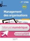 Enjeux et Repères Management des organisations Term. STMG - Manuel numérique enseignant simple - Ed.