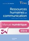 En Situation Ressources humaines et communication Term. STMG - Manuel numérique élève simple - Ed. 2