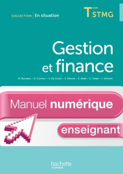 En Situation Gestion et Finance Term. STMG - Manuel numérique enseignant simple - Ed. 2013