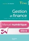 En Situation Gestion et Finance Term. STMG - Manuel numérique élève simple - Ed. 2013