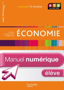 En situation Economie BTS 2e année - Manuel numérique élève simple - Ed. 2013
