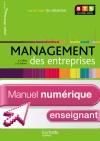 En Situation Management des entreprises BTS 2e année - Manuel numérique enseignant simple - Ed. 2013