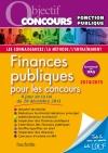 Objectif Concours - Finances Publiques Catégories A et B - Edition 2014 2015