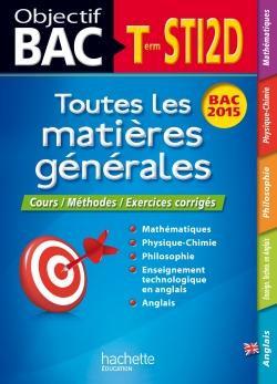 Objectif Bac - Toutes les matières - Term STI2D