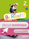 Be ready! 2de Bac pro - Manuel numérique enseignant simple - Ed. 2014