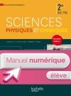 Sciences physiques chimiques 2de Bac Pro - Manuel numérique élève simple - Ed. 2014