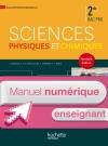 Sciences physiques chimiques 2de Bac Pro - Manuel numérique enseignant simple - Ed. 2014